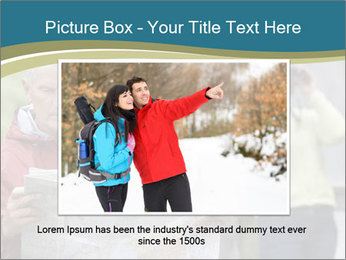 Man reading map PowerPoint Templates - Slide 16
