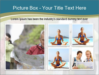 Man reading map PowerPoint Template - Slide 19