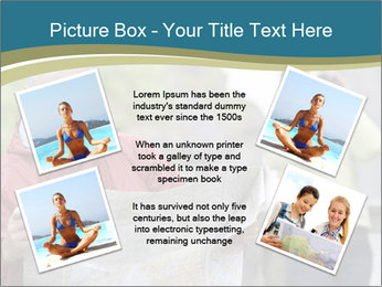 Man reading map PowerPoint Templates - Slide 24