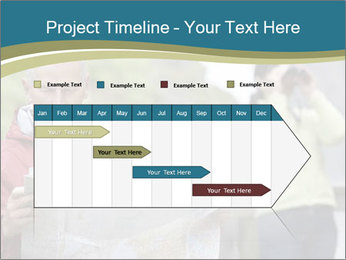 Man reading map PowerPoint Template - Slide 25
