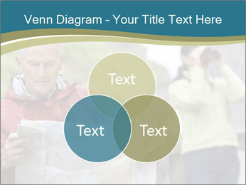 Man reading map PowerPoint Template - Slide 33