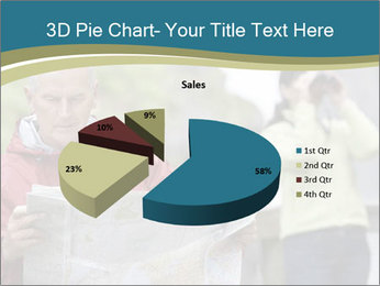 Man reading map PowerPoint Template - Slide 35