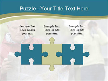 Man reading map PowerPoint Templates - Slide 42