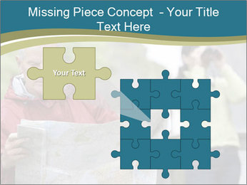 Man reading map PowerPoint Templates - Slide 45