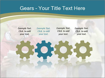 Man reading map PowerPoint Templates - Slide 48