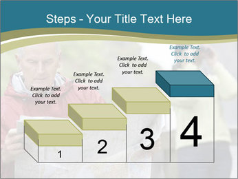 Man reading map PowerPoint Templates - Slide 64