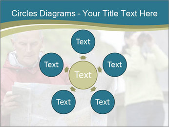 Man reading map PowerPoint Templates - Slide 78