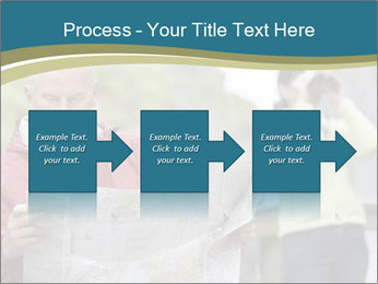 Man reading map PowerPoint Templates - Slide 88
