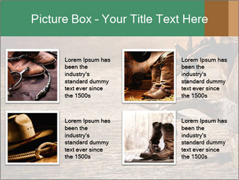 American West rodeo PowerPoint Templates - Slide 14