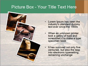 American West rodeo PowerPoint Templates - Slide 17