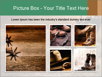 American West rodeo PowerPoint Templates - Slide 19