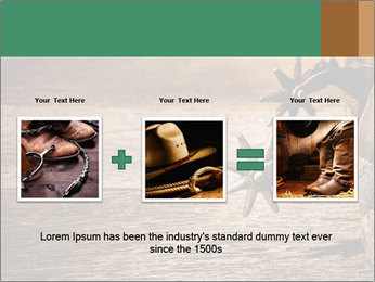 American West rodeo PowerPoint Templates - Slide 22