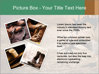 American West rodeo PowerPoint Templates - Slide 23
