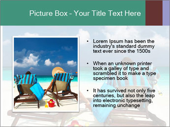 Couple at Maldives PowerPoint Template - Slide 13