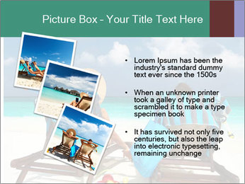 Couple at Maldives PowerPoint Template - Slide 17