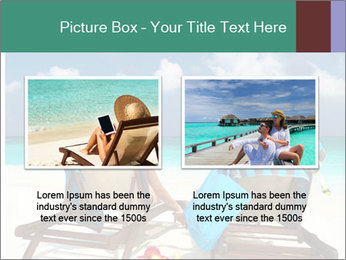 Couple at Maldives PowerPoint Template - Slide 18