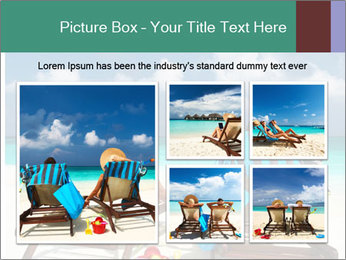 Couple at Maldives PowerPoint Template - Slide 19