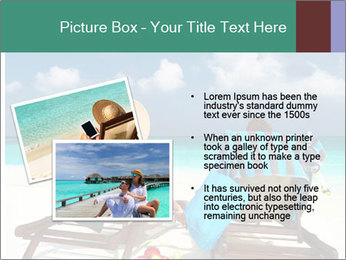 Couple at Maldives PowerPoint Template - Slide 20