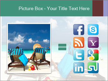 Couple at Maldives PowerPoint Template - Slide 21