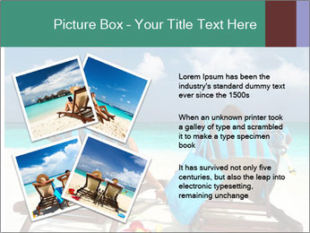 Couple at Maldives PowerPoint Template - Slide 23