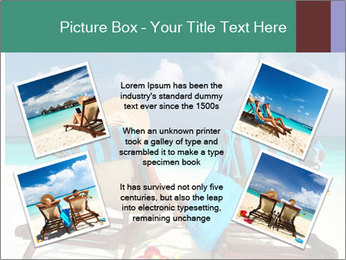 Couple at Maldives PowerPoint Template - Slide 24