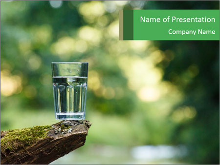 Clean water PowerPoint Templates