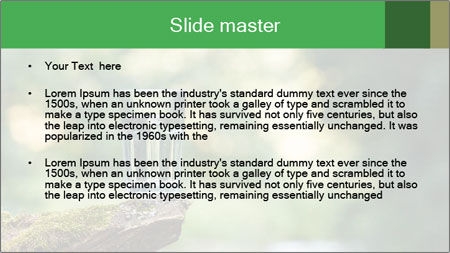 Clean water PowerPoint Template - Slide 2