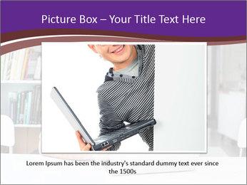 Happy man working PowerPoint Template - Slide 16