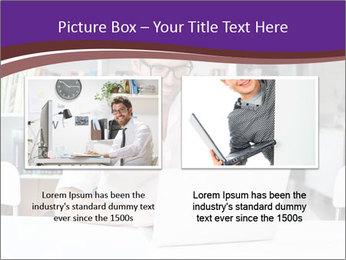 Happy man working PowerPoint Template - Slide 18