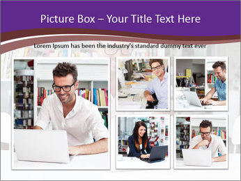 Happy man working PowerPoint Templates - Slide 19