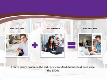 Happy man working PowerPoint Templates - Slide 22