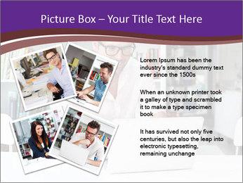 Happy man working PowerPoint Template - Slide 23
