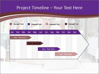Happy man working PowerPoint Template - Slide 25
