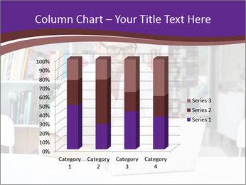 Happy man working PowerPoint Template - Slide 50