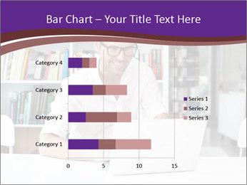 Happy man working PowerPoint Template - Slide 52
