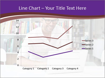 Happy man working PowerPoint Templates - Slide 54