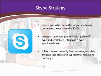 Happy man working PowerPoint Template - Slide 8