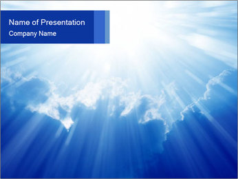 Peaceful PowerPoint Template - Slide 1