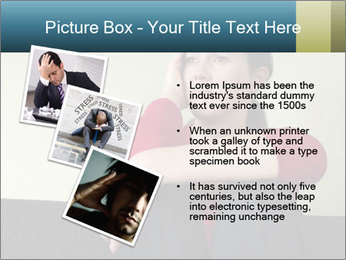 Portrait of sad woman PowerPoint Templates - Slide 17
