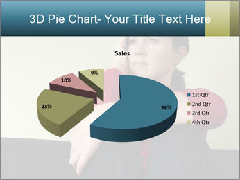 Portrait of sad woman PowerPoint Templates - Slide 35