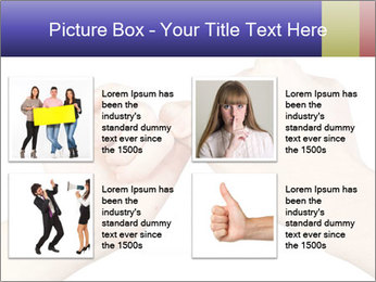 Man and woman making a pinkie promise PowerPoint Template - Slide 14