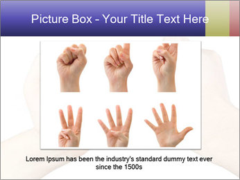 Man and woman making a pinkie promise PowerPoint Template - Slide 15