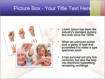Man and woman making a pinkie promise PowerPoint Template - Slide 20