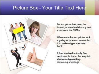 Man and woman making a pinkie promise PowerPoint Template - Slide 23