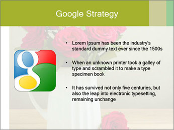 Rose flower bouquet PowerPoint Template - Slide 10