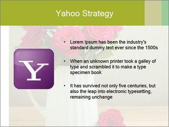 Rose flower bouquet PowerPoint Template - Slide 11