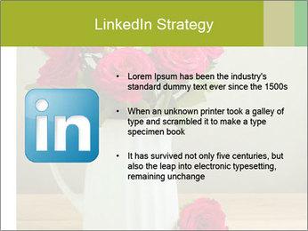 Rose flower bouquet PowerPoint Template - Slide 12