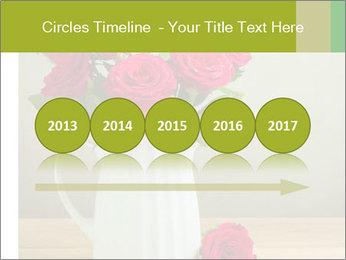 Rose flower bouquet PowerPoint Template - Slide 29