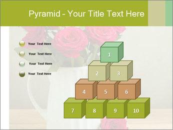 Rose flower bouquet PowerPoint Template - Slide 31