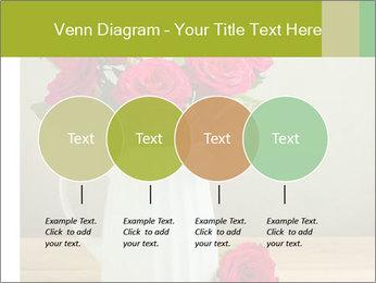 Rose flower bouquet PowerPoint Template - Slide 32